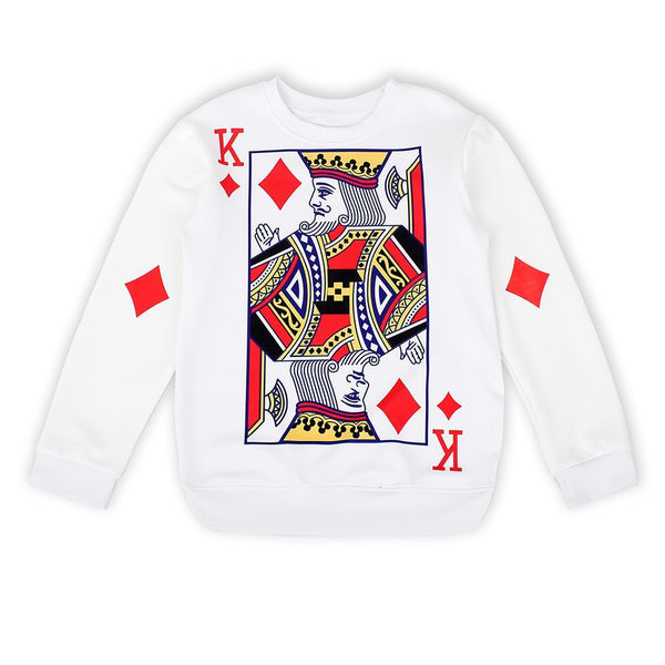 Card King Sweatshirt for Women