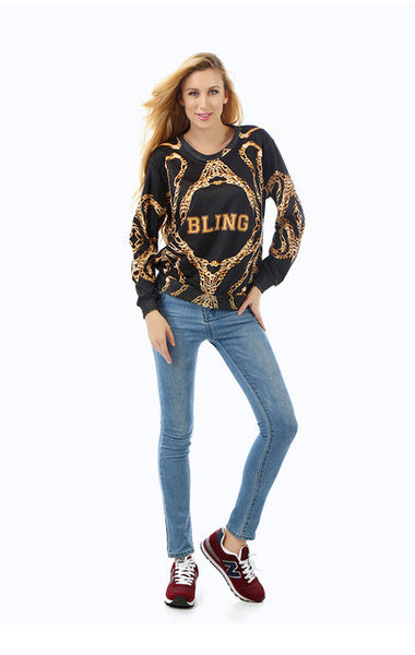Gold Chains Sweatshirt