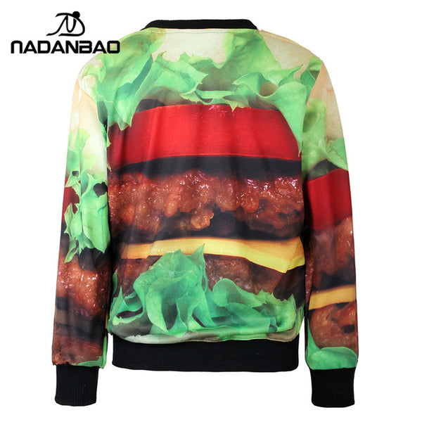 Hamburger Sweatshirt for Women