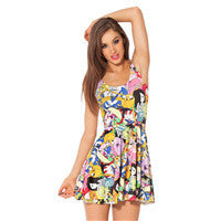 Cartoon Dress Women
