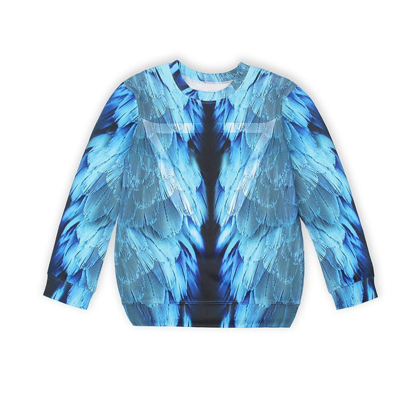 Blue Wings Sweatshirt Women