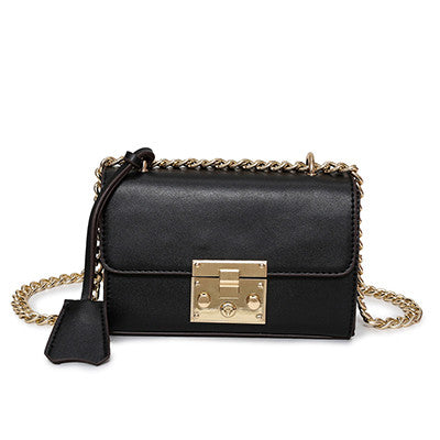Black Clutch Bag Shoulder Handbag for Women