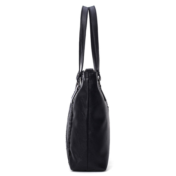 Black Women Shoulder Handbag