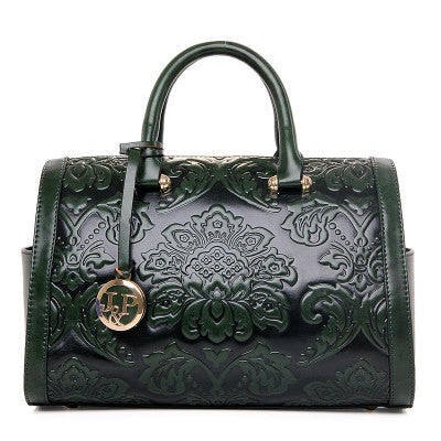 Green Women Handbag Candy Bag