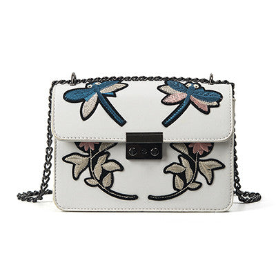 White Shoulder Bag HandBag for Women