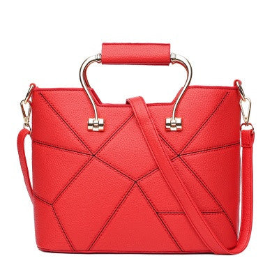 Red Women Handbag Shoulder Bag