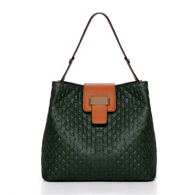 Green Women Shoulder Bag HandBag