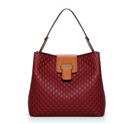 Red Women Shoulder Bag HandBag