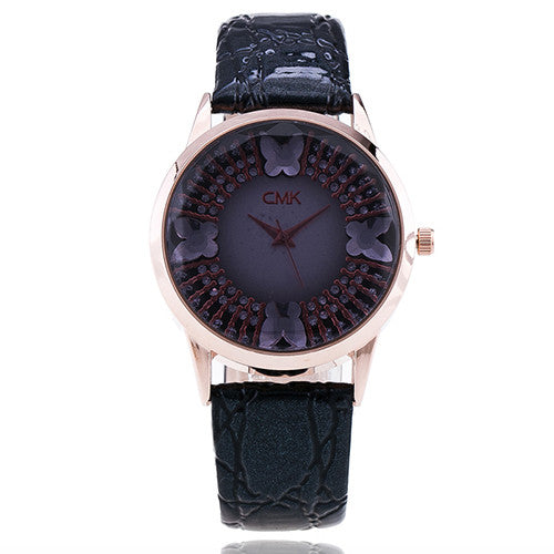 Black Elegant Wrist Watch for Women