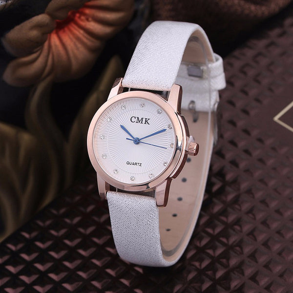 Crystal Charm Ladies Wrist Watch for Women