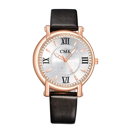 Black Fashion Wristwatch watch for Women