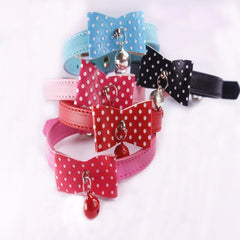 Leather Pet Necklaces for Dogs Size XS S M