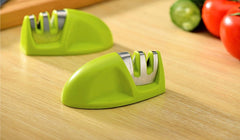 Two Stages Diamond & Ceramic Kitchen Knife Sharpener