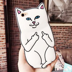 Hot Funny 3D Animal Cases Cover For iPhone 7 7Plus 4S 5 5S 5C SE 6 6S 6Plus - Stylished Shop