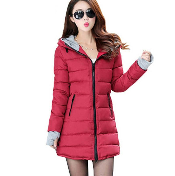 Beautiful Women Down Coat Jacket for winter and Autumn - Stylished Shop