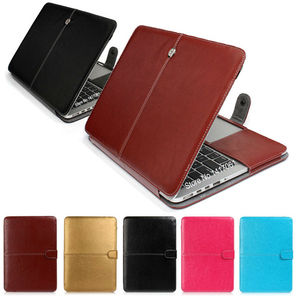Fashion Leather Laptop Case For Laptops and Mac