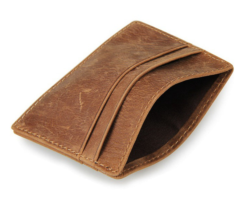 mens leather credit card holder must have - Leather Credit Card Holder
