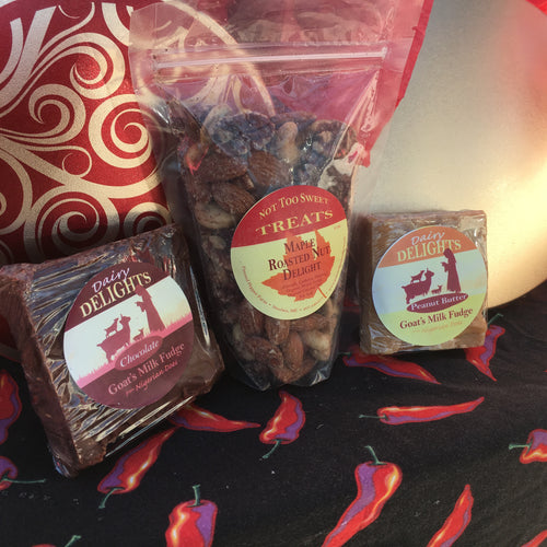 Maple Roasted Nuts & Dairy Delights Fudge Sampler Box