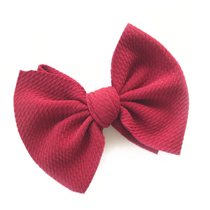 Cranberry Rose Bow