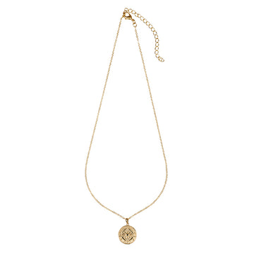 Alchemy Pendant Necklace Gold