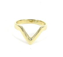 Directions knuckle ring // Italian Brass