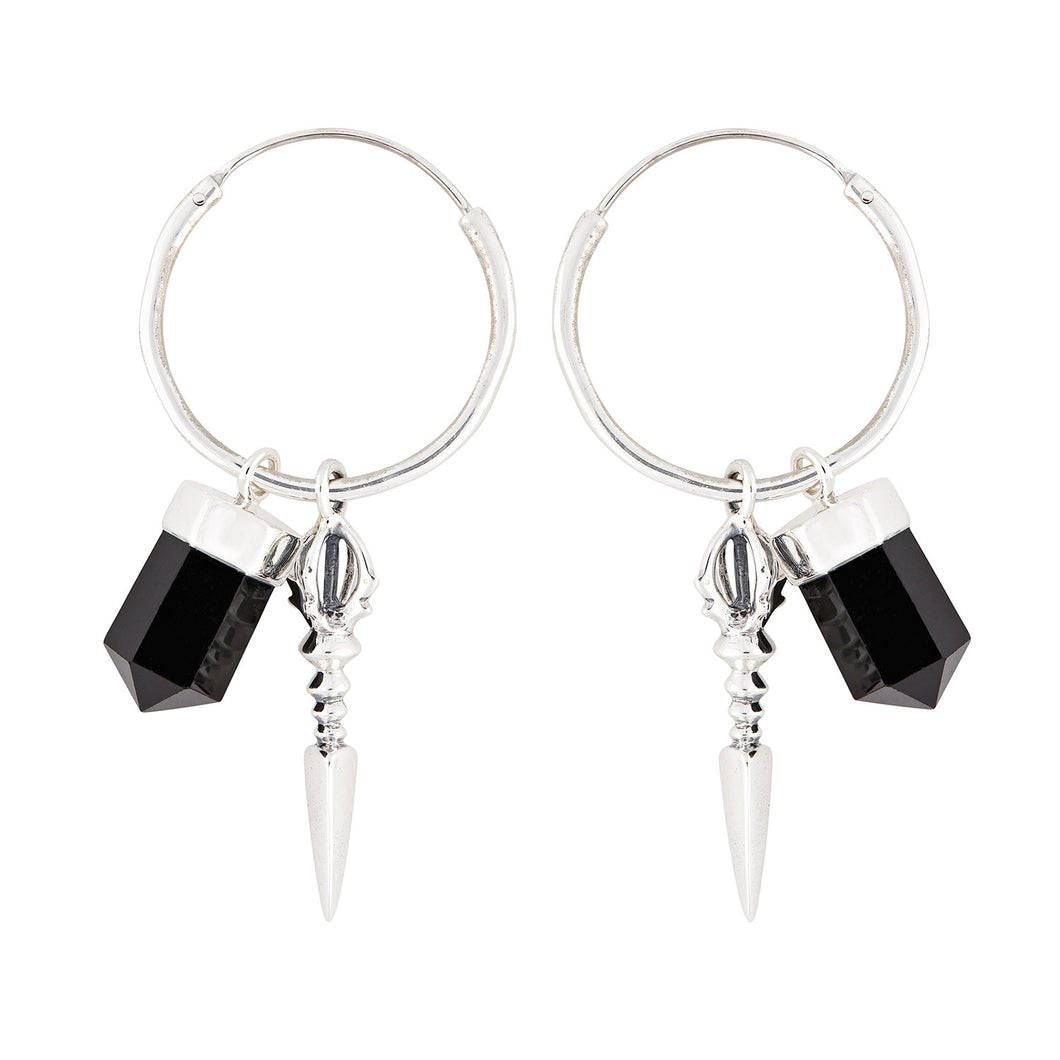 Rock 'n' Rolla Charmed Earrings