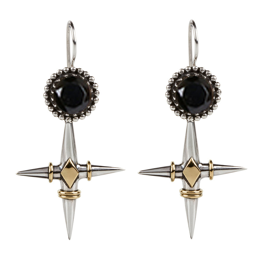 Don't Cross Me Earrings // ONYX