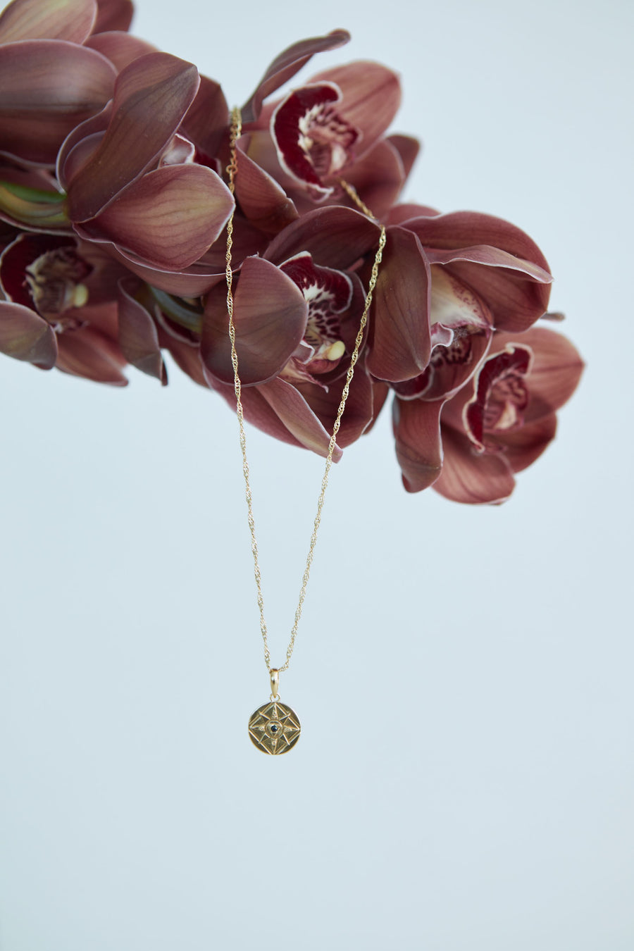 Alchemist mini pendant necklace // Gold Vermeil