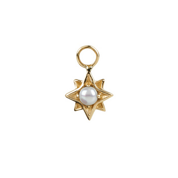 North Star Pearl in Gold Vermeil