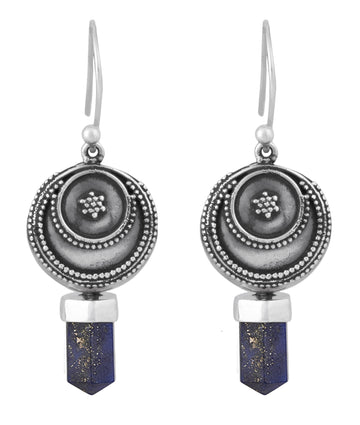 Prophetic Earrings || Lapis Lazuli