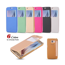 Cover Flip Leather Phone Cases For Galaxy S8 /S8 Plus S7 S7 Edge S6 S6 Edge