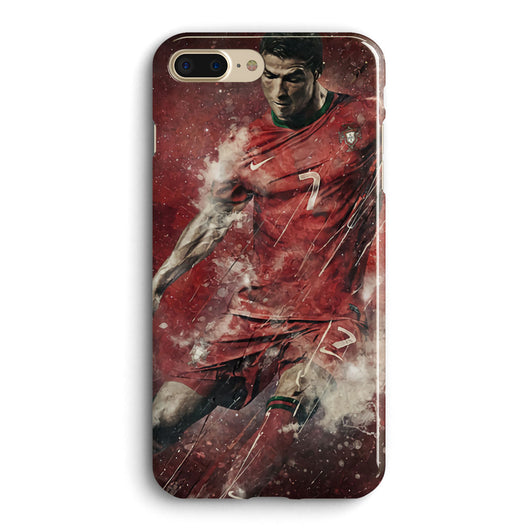 Cristiano Ronaldo CR7 #3 iPhone Case