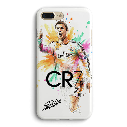 Cristiano Ronaldo CR7 #4 iPhone Case