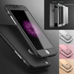 Hybrid 360° New Shockproof Case Tempered Glass Cover For Apple iPhone 7 7 Plus 6 6s 6 Plus 6s Plus