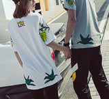 Animals and Plants!Short Sleeve T-shirt, Unisex Tees, Couple's T-shirt, Street Fashion Tee-TownTiger