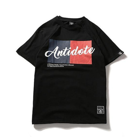 Antidote!Short Sleeve T-shirt, Unisex Tees, Couple's T-shirt, Street Fashion Tee-TownTiger