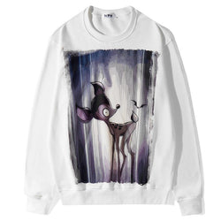 Bambi! Long Sleeve Sweatshirt, Unisex Tops, Unisex T-shirt, Sweater Tee G