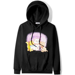 Cats pink! Long Sleeve Hooded Sweatshirt, Unisex Hoodie, Sweater Tee Sweats Ambush