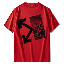 Constructure OFF! Short Sleeve T-shirt, Unisex Tees, Couple's T-shirt, Street Fashion Tee Shirt