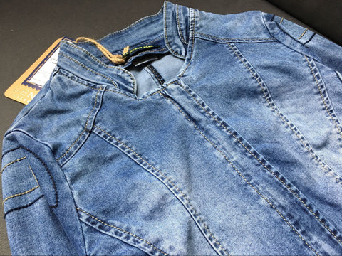 8260b50502963 Denim Baseball Jacket!Jeans Top