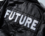 FUTURE! Long Sleeve Unisex Printed Bomber Jacket, Men's Fashion, Street Jacket Baseball Jacket-TownTiger