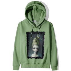 Girl with nothing on! Long Sleeve Hooded Sweatshirt, Unisex Hoodie, Sweater Tee Sweats Ambush