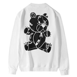 Gloomy Bear BW! Long Sleeve Sweatshirt, Unisex Tops, Unisex T-shirt, Sweater Tee