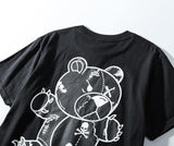 Gloomy Bear! Short Sleeve T-shirt, Unisex Tees, Couple's T-shirt, Street Fashion Tee Shirt-TownTiger