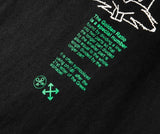 Green Bunny OFF!Short Sleeve T-shirt, Unisex Tees, Couple's T-shirt, Street Fashion Tee Shirt 2020