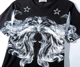 Hair and Horns Givenc! Short Sleeve T-shirt, Unisex Tees, Couple's T-shirt, Street Fashion Tee Motif-TownTiger