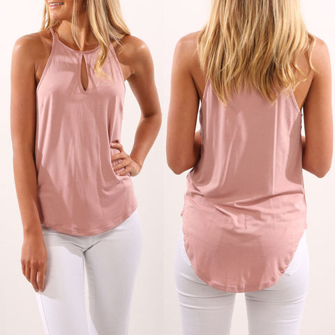 Halter Tops! Attractive Tops with Halter, Casual Tops, Sleeveless Tops-TownTiger