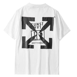 Kunsthal. Rotterdam OFF! Short Sleeve T-shirt, Unisex Tees, Couple's T-shirt, Street Fashion Tee Shirt