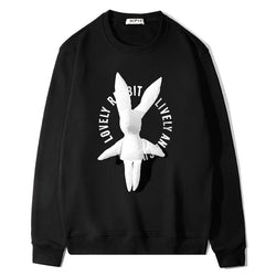 Lovely Rabbit! Long Sleeve Sweatshirt, Unisex Tops, Unisex T-shirt, Sweater Tee