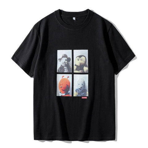 MIKE KELLEY AHH... YOUTH SUPREME!Short Sleeve T-shirt, Unisex Tees, Couple's T-shirt, Street Fashion-TownTiger